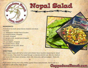 Nopal Salad Recipe