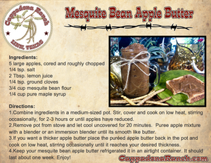 Mesquite Bean Apple Butter