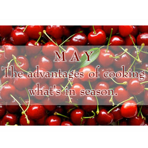 The advantages of cooking what's in season!