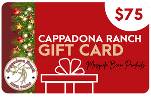 Cappadona Ranch Holiday Gift Cards