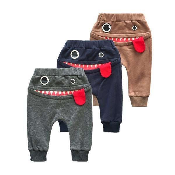 The 'Smiling Gronk' Harem Pant