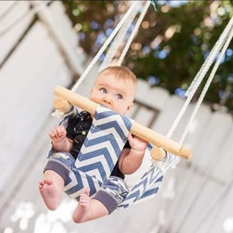Canvas Baby Swing