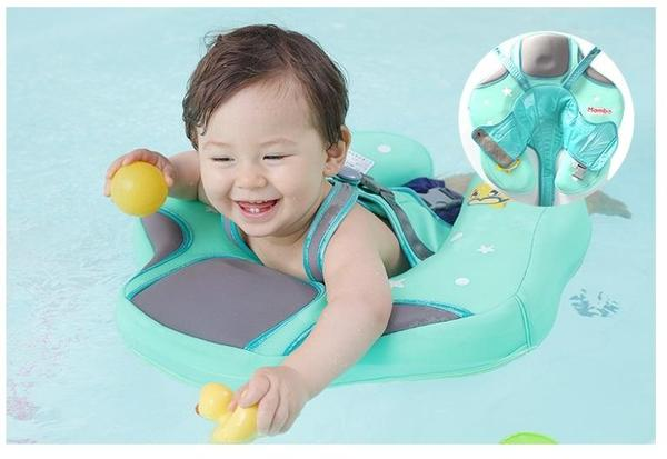 Mambo baby water float swim trainer flunna - Can babies swim in saltwater pools ...