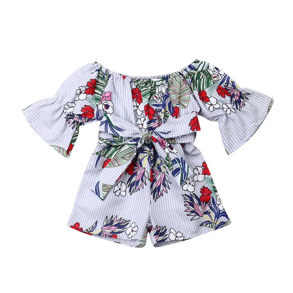 Heavenly Romper - White Daisy