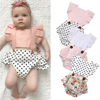 Image of Polka Dot Pink Romper