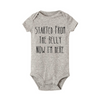 "Image of ""Started From The Belly"" Romper"