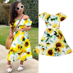 Sunflower Skirt Set