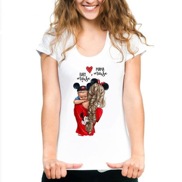 Mama Mouse Baby Mouse T-shirt