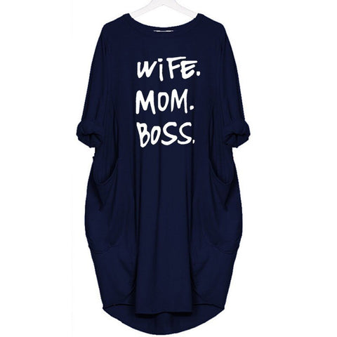 Teresa™ - Chic Wife-Mom-Boss Designer Dress