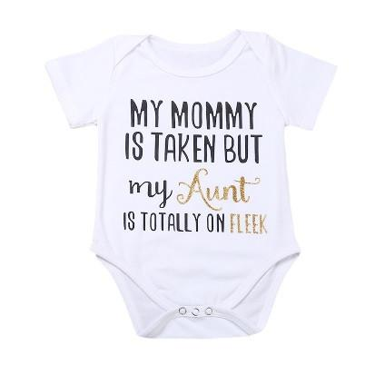 """My Aunt is Totally On Fleek"" Bodysuit"