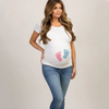 Image of Funny Print Pregnancy T-Shirt