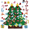 Image of Felt Tree Double Bundle - 2 Felt Trees and FREE Spare ornaments!
