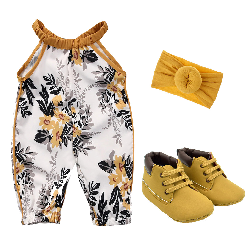 Golden Flower Outfit Bundle