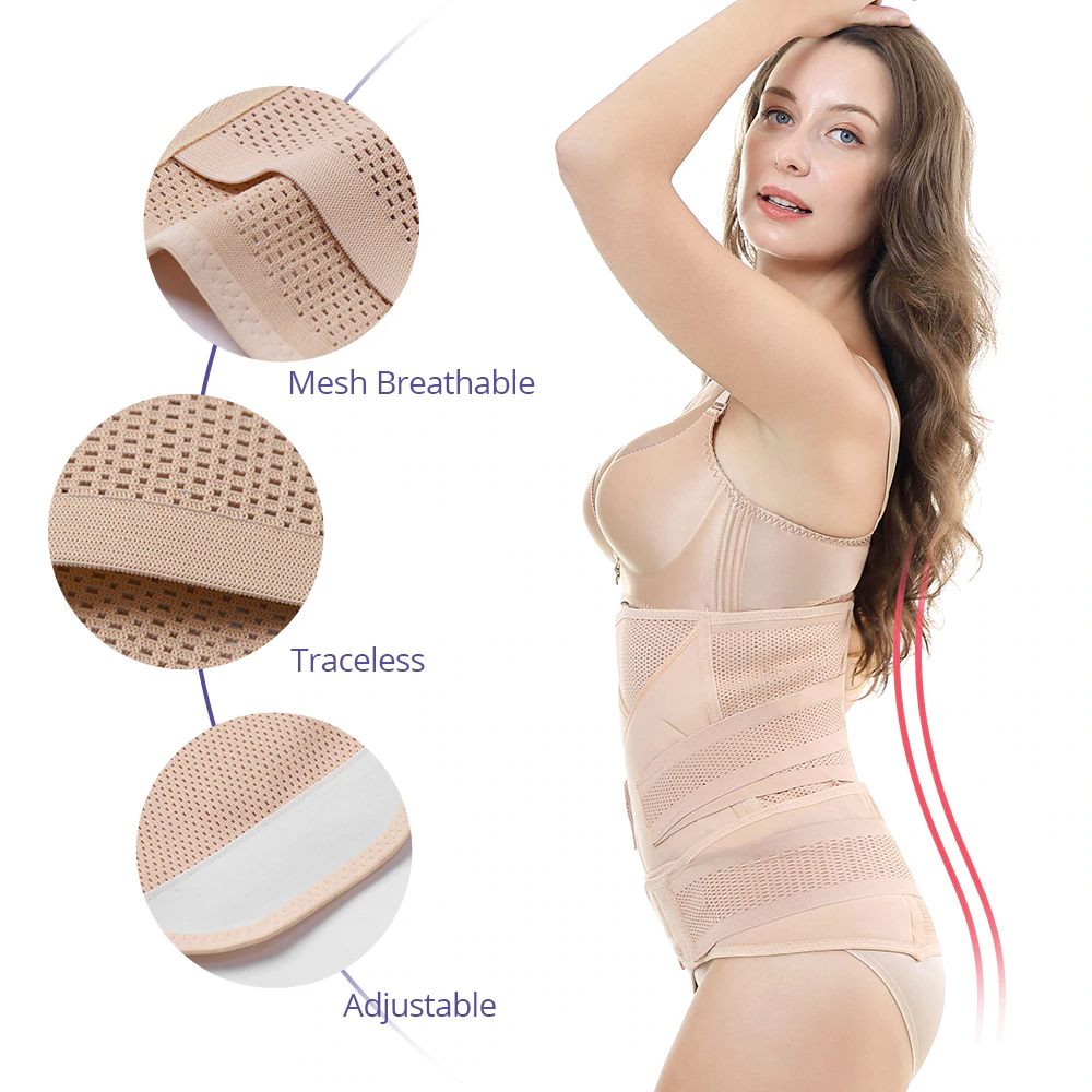 3 in 1 Postpartum Belly/Waist/Pelvis Shapewear