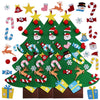 Image of Felt Tree Triple Bundle - 3 Felt Trees and Free Spare ornaments!
