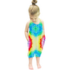 Image of Alice Tie Dye Jumpsuit - Blue/Yellow