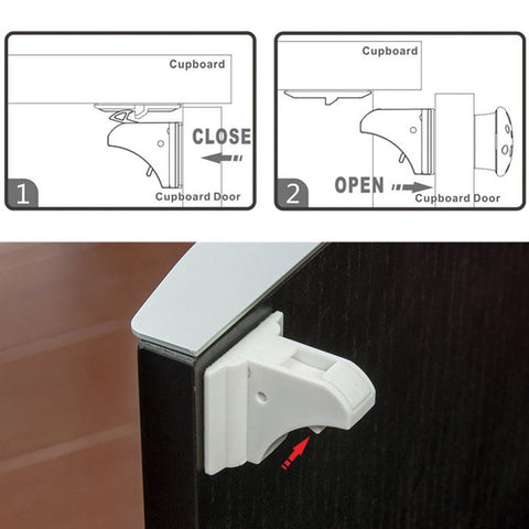 Magnetic Cabinet Locks