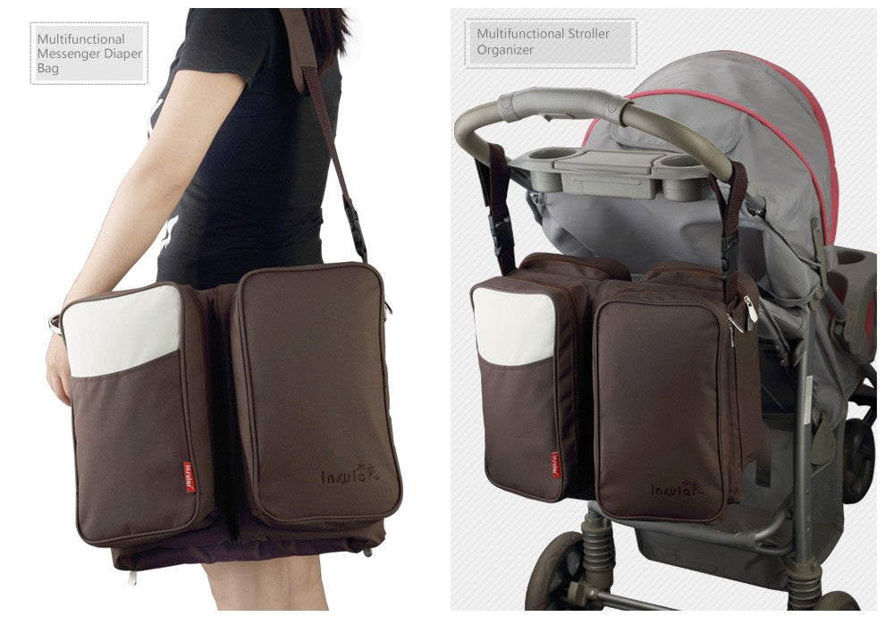 3 IN 1 PORTABLE BASSINET/DIAPER BAG