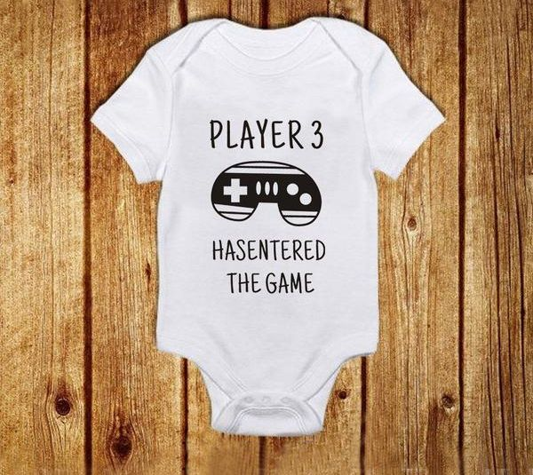 Player 3 Romper