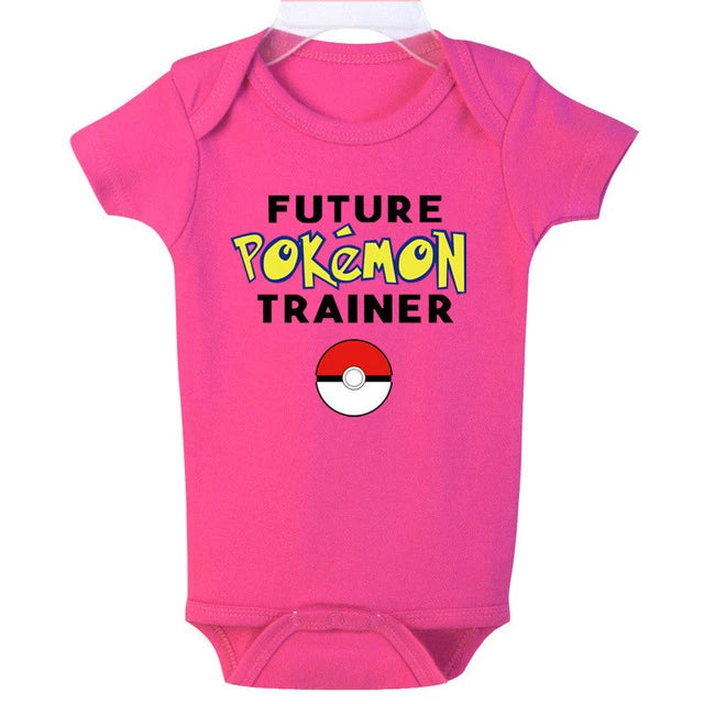 """Future Pokemon Trainer"" Romper"