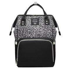 Leopard Diaper Backpack