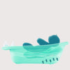 Image of Fun Animal Shape Bathtub