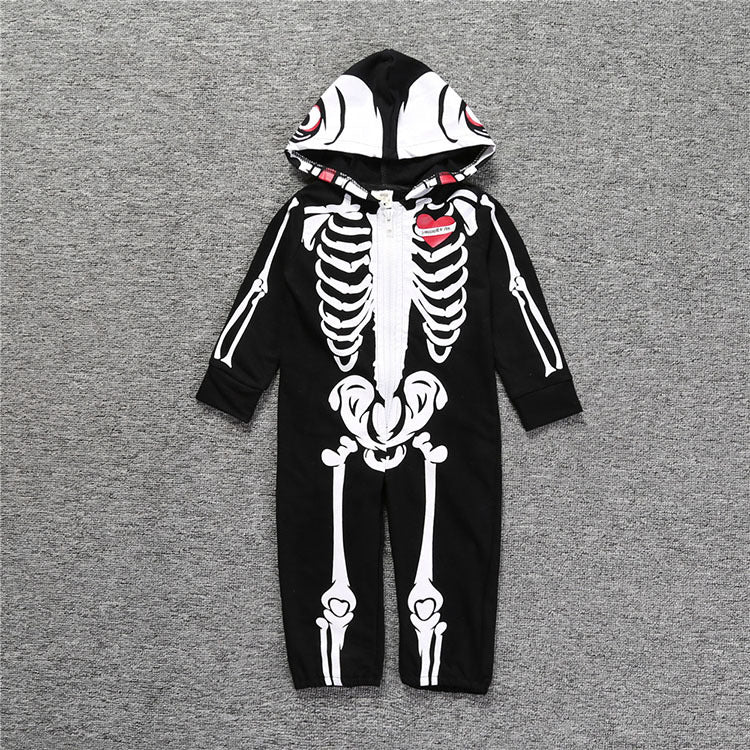 BONE TODDLERS COSTUME HALLOWEEN
