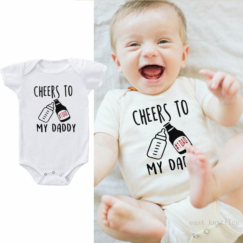 """Cheers To My Daddy"" Romper"