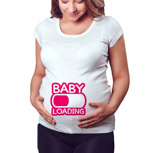Baby Now Loading T-Shirt