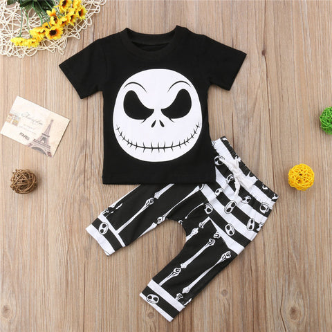 SKELETON TOP + LEGGINGS