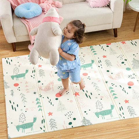 Forest Fox Baby Play Mat