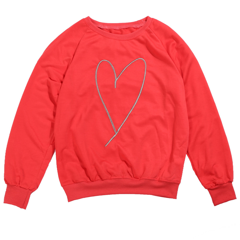MOMMY & ME HEART SWEATSHIRT