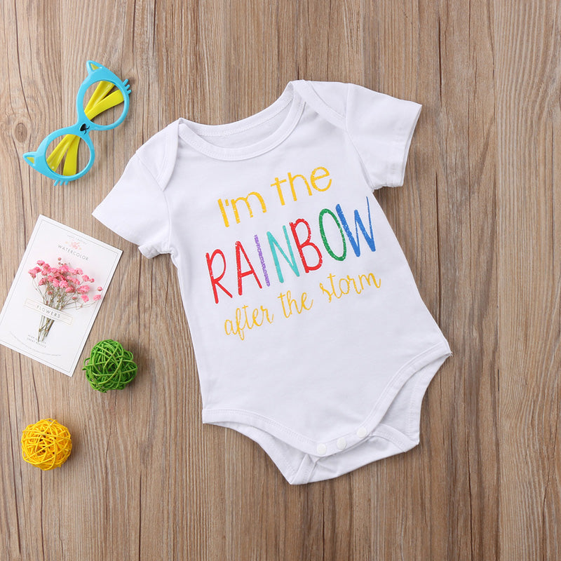 """I'm The Rainbow After The Storm"" Romper"