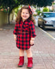 Image of Plaid Toddler Dress