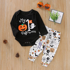 MY FIRST HALLOWEEN LONG SLEEVE 2-PIECE SET
