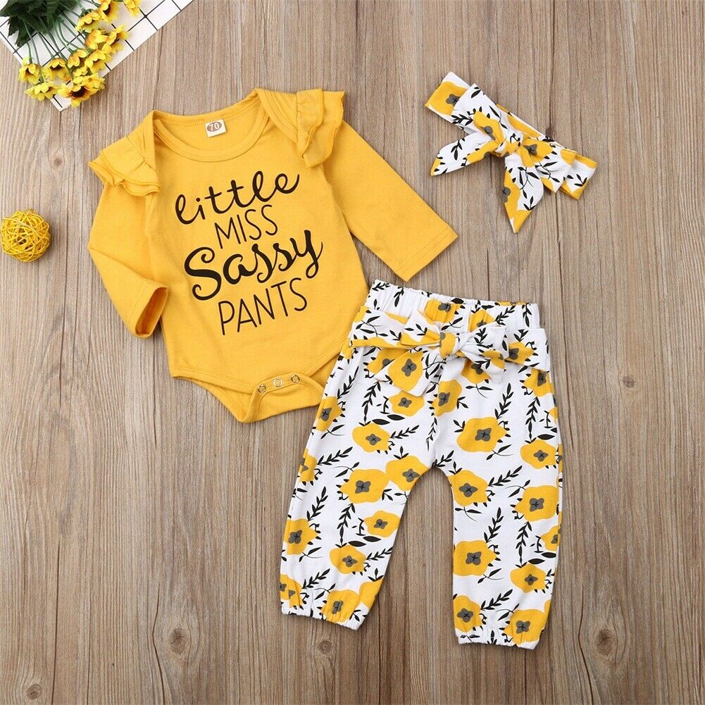 Little Miss Sassy Pants Outfit