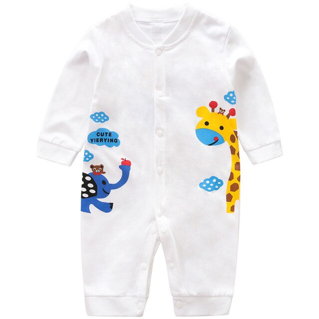 Cute Animals printing Romper