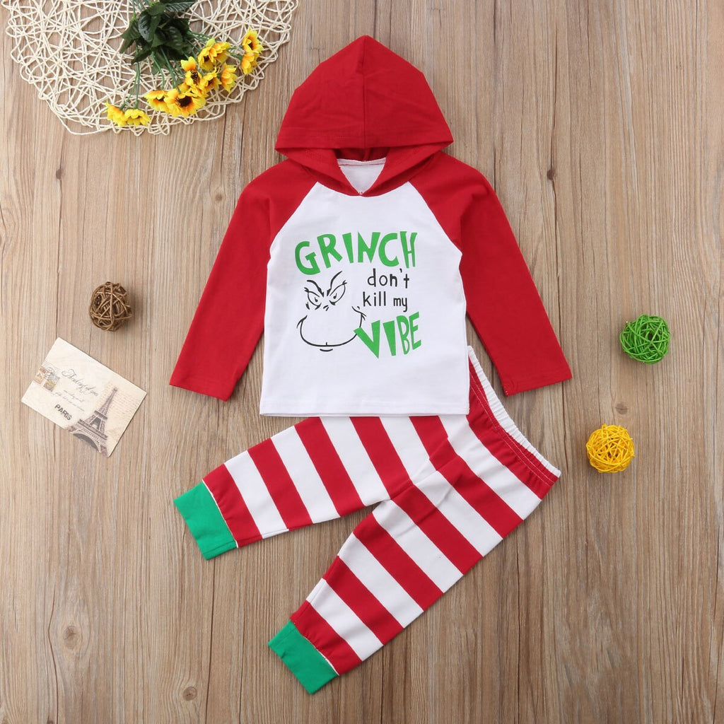 'Grinch don't kill my Vibe' Hoody Outfit