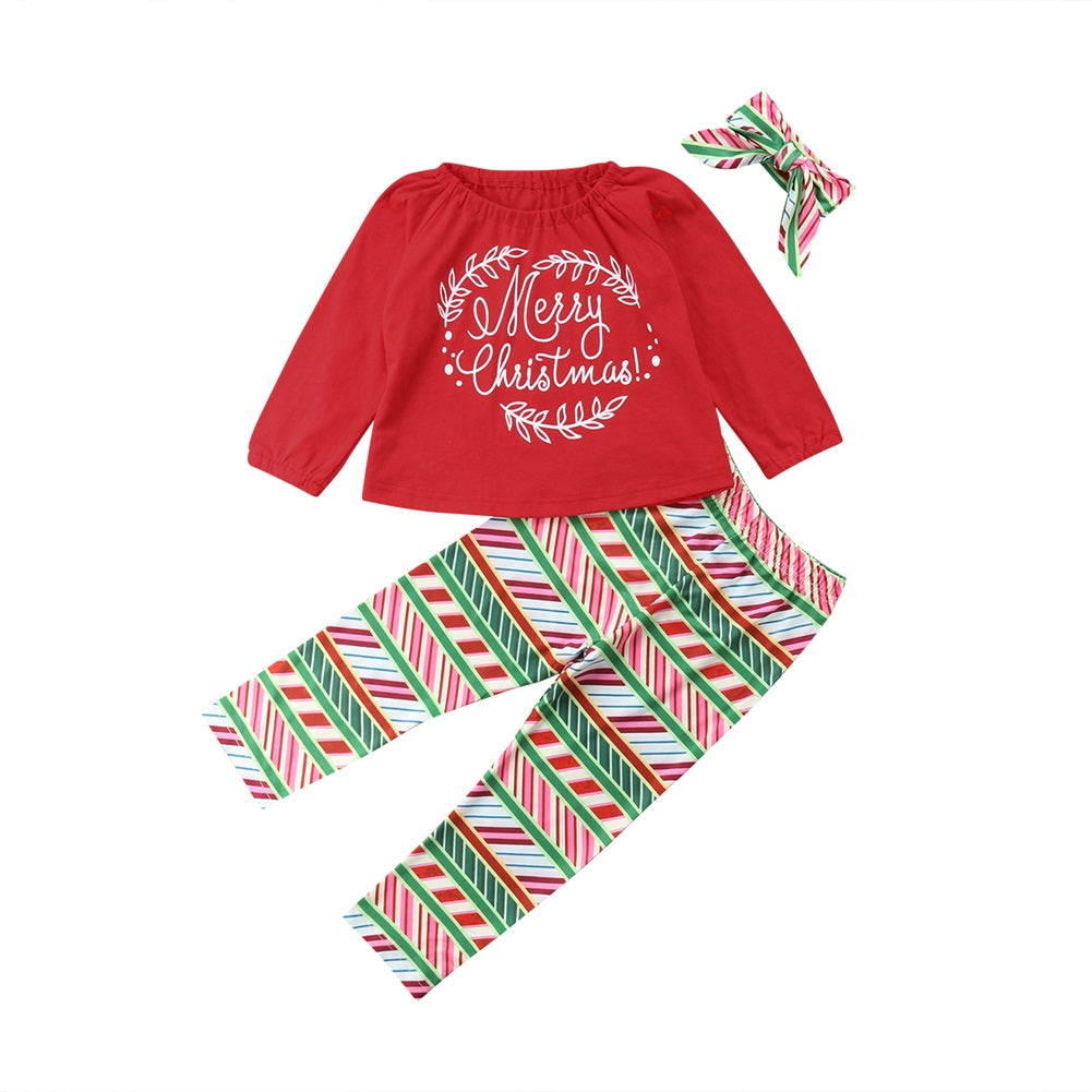 Baby Girl Xmas Outfit