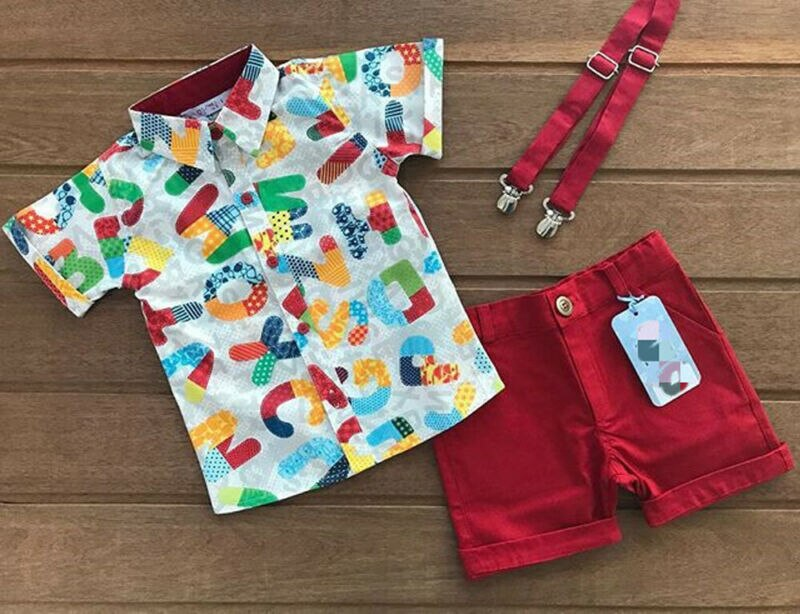 2Pcs Baby Boy Clothes Sets