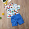 Image of 2Pcs Baby Boy Clothes Sets