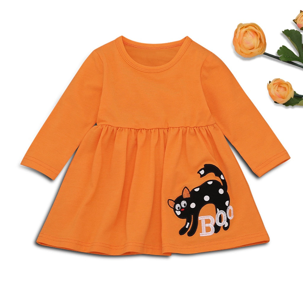 Halloween Girl Outfits 3 Pieces Set