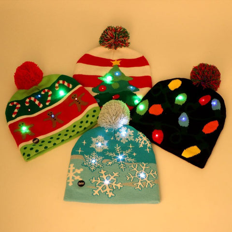 Christmas LED Beanie
