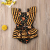 Image of 'Pumpkin' Halloween Romper
