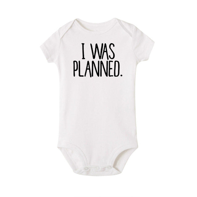 """I Was Planned and I Was a Surprise"" Romper"