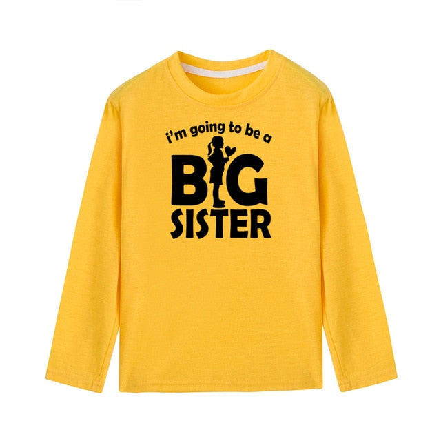 I'm Going To Be A Big Sister  Long Sleeve T-Shirt