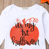 Image of 4Pcs '' Its My 1st Halloween'' Outfit