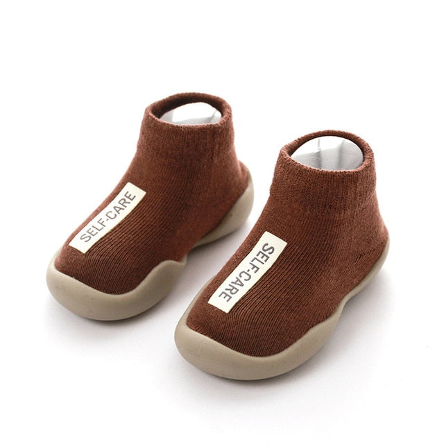"""Self-Care"" First Walker Booties"