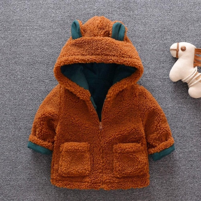 'Fuzzy Bear' Winter Jacket