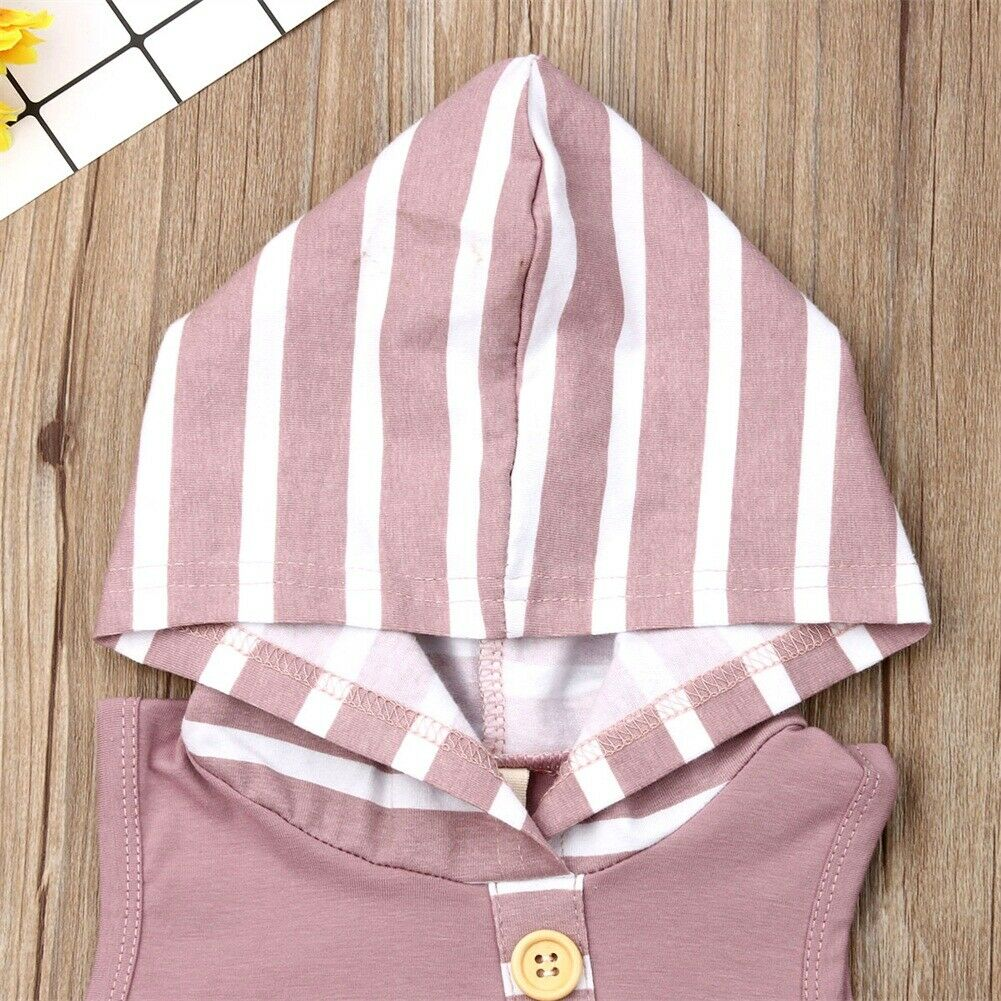 'SUNSHINE' STRIPED SUMMER HOODY OUTFIT